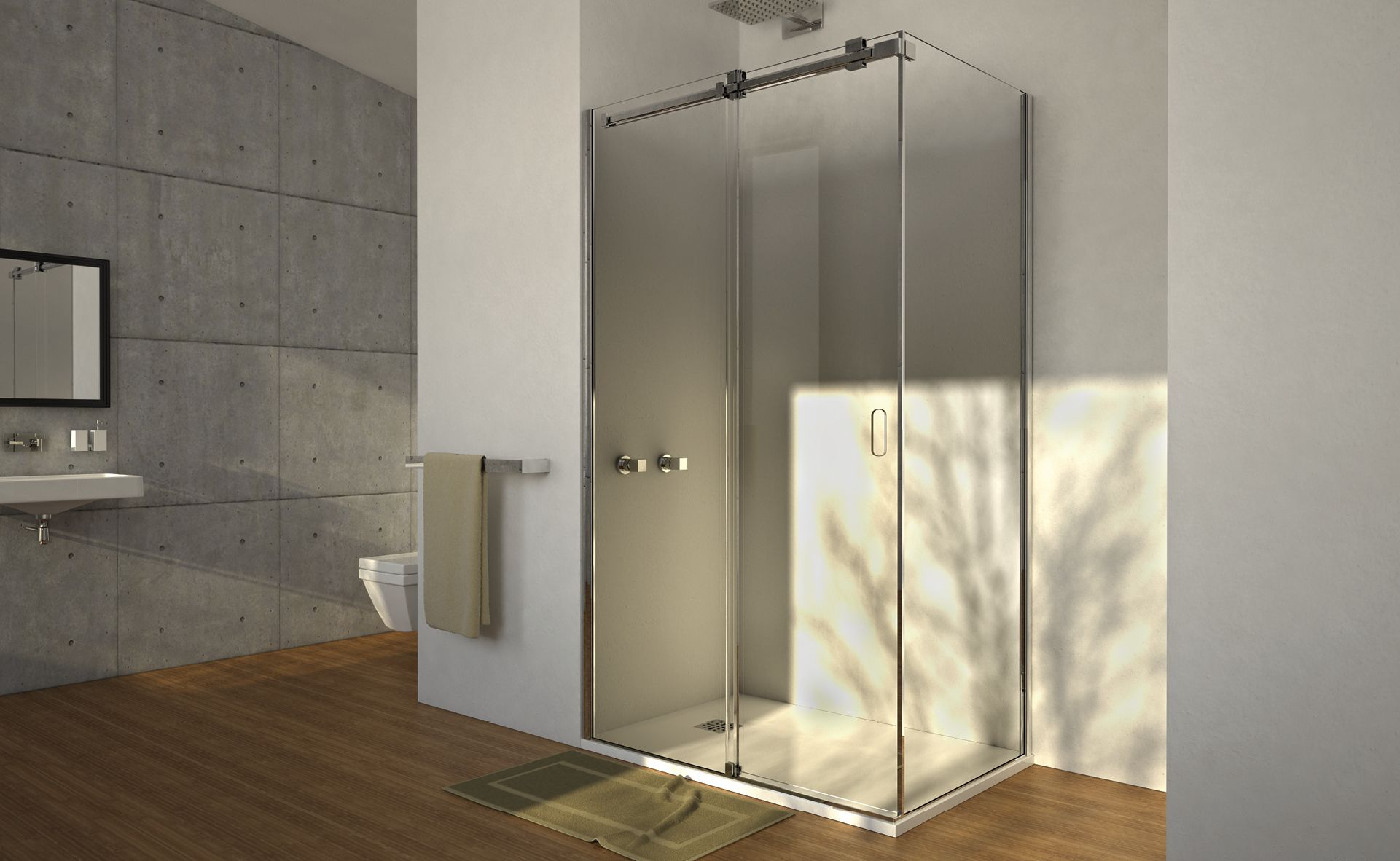 SERIES OPEN AIR Shower room, Bathroom