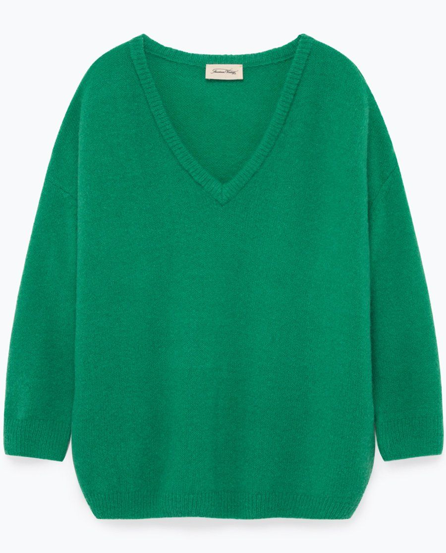 9aa87eb862 American Vintage Vikiville Knit Menthol Green | Clothing in 2019 ...