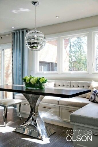 Candice Olson Dining Elegance In 2019 Booth Seating In