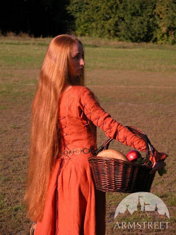 """Abito medievale """"Elisa dai capelli rossi""""   Moda medievale ..."""