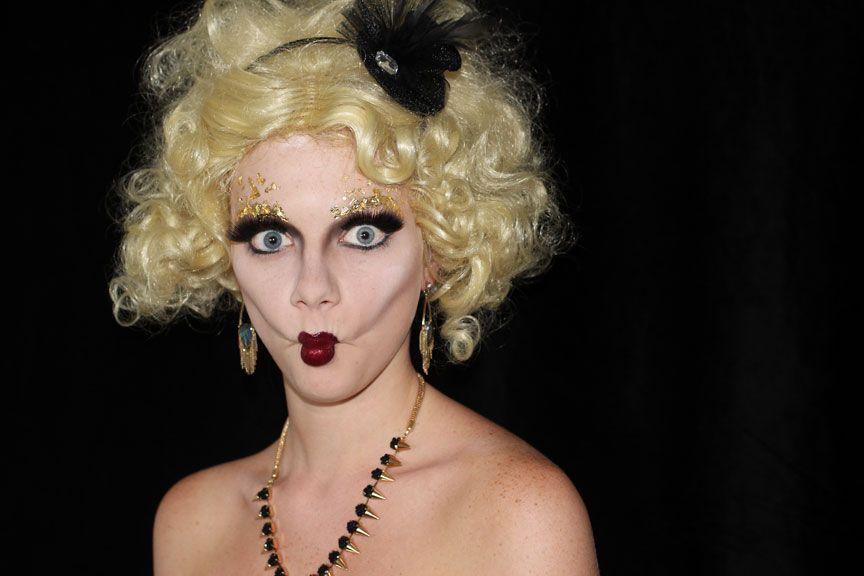 Hunger Games Costume - Effie Trinket Makeup Look   Hunger