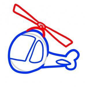 how to draw a helicopter for kids step by step cars for kids
