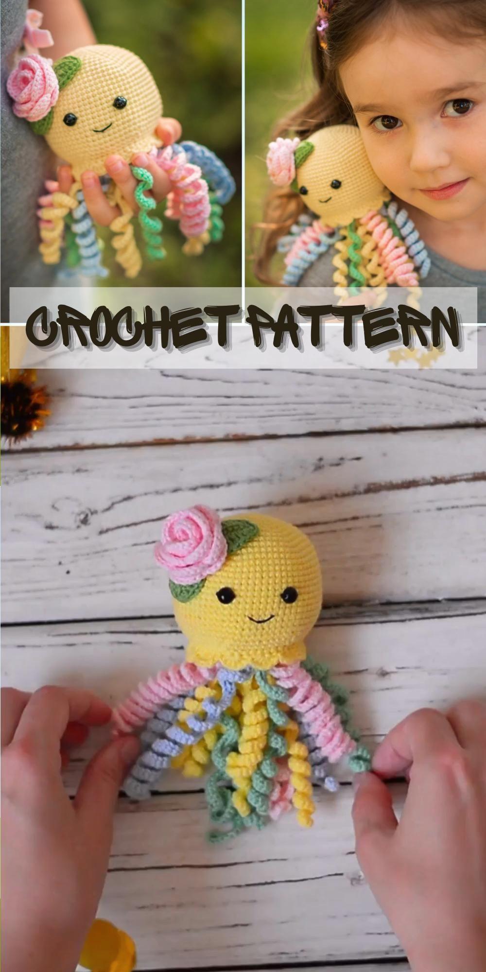 CROCHET PATTERN Octopus, Crochet pattern Baby Octopus, Amigurumi pattern, Amigurumi animals