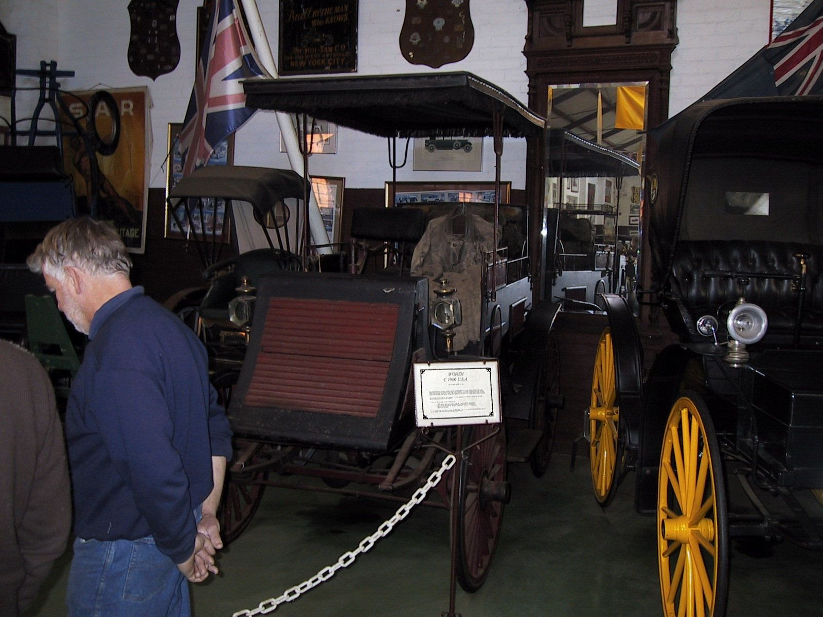 USA Worth Automobile c1900 - taken at the York motor Museum Western ...