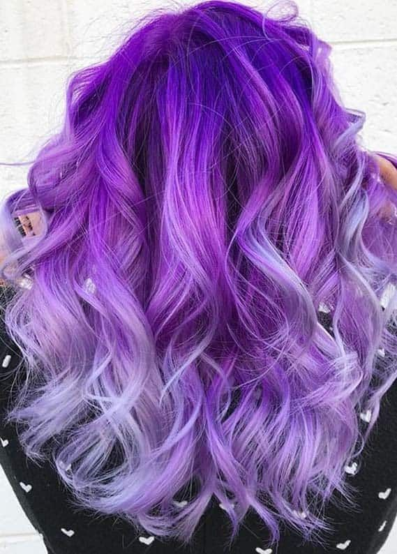 Latest Purple Hair Color Trends for Fashionable Women in 2020 | Absurd Styles