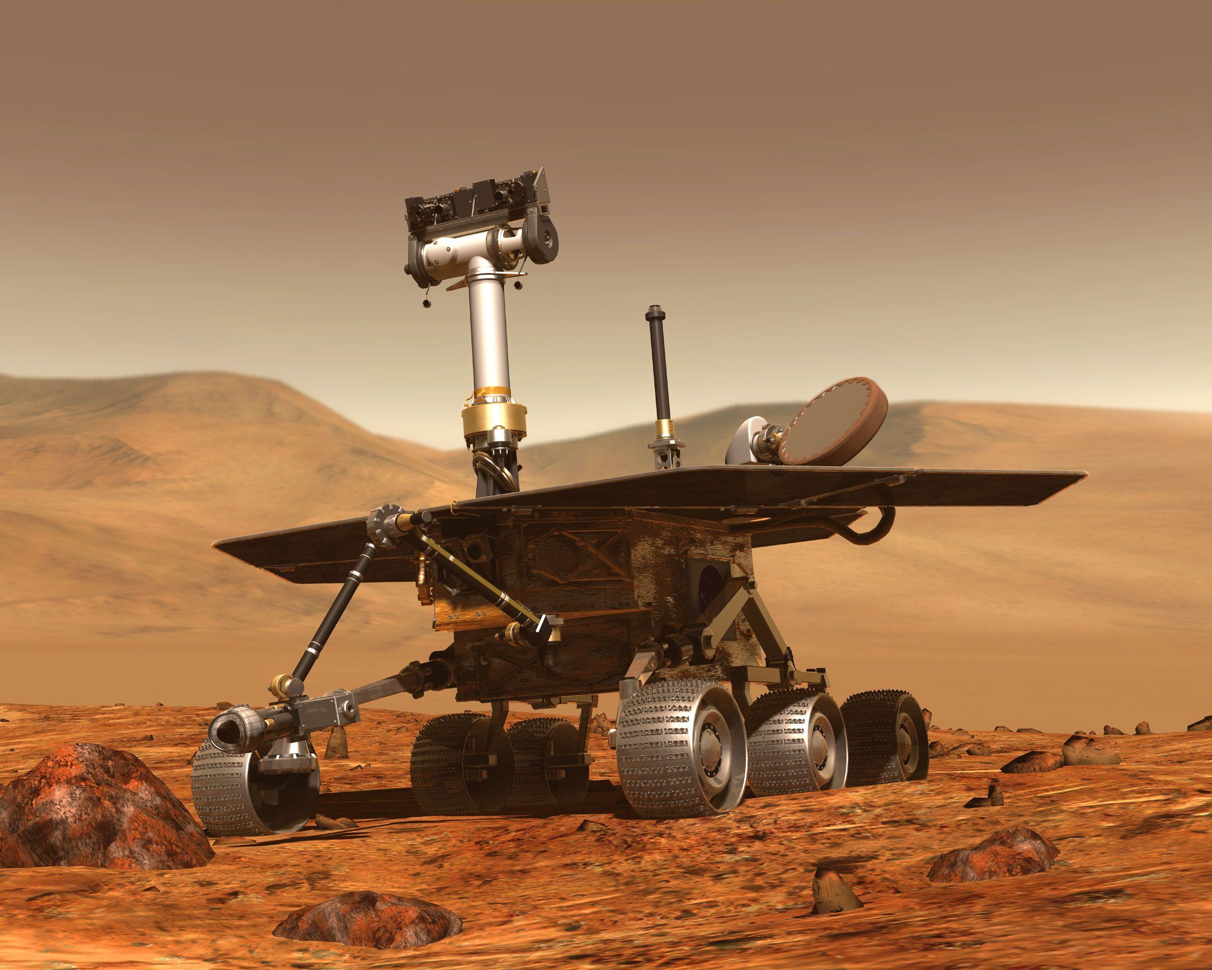 Mars | Honeybee Robotics