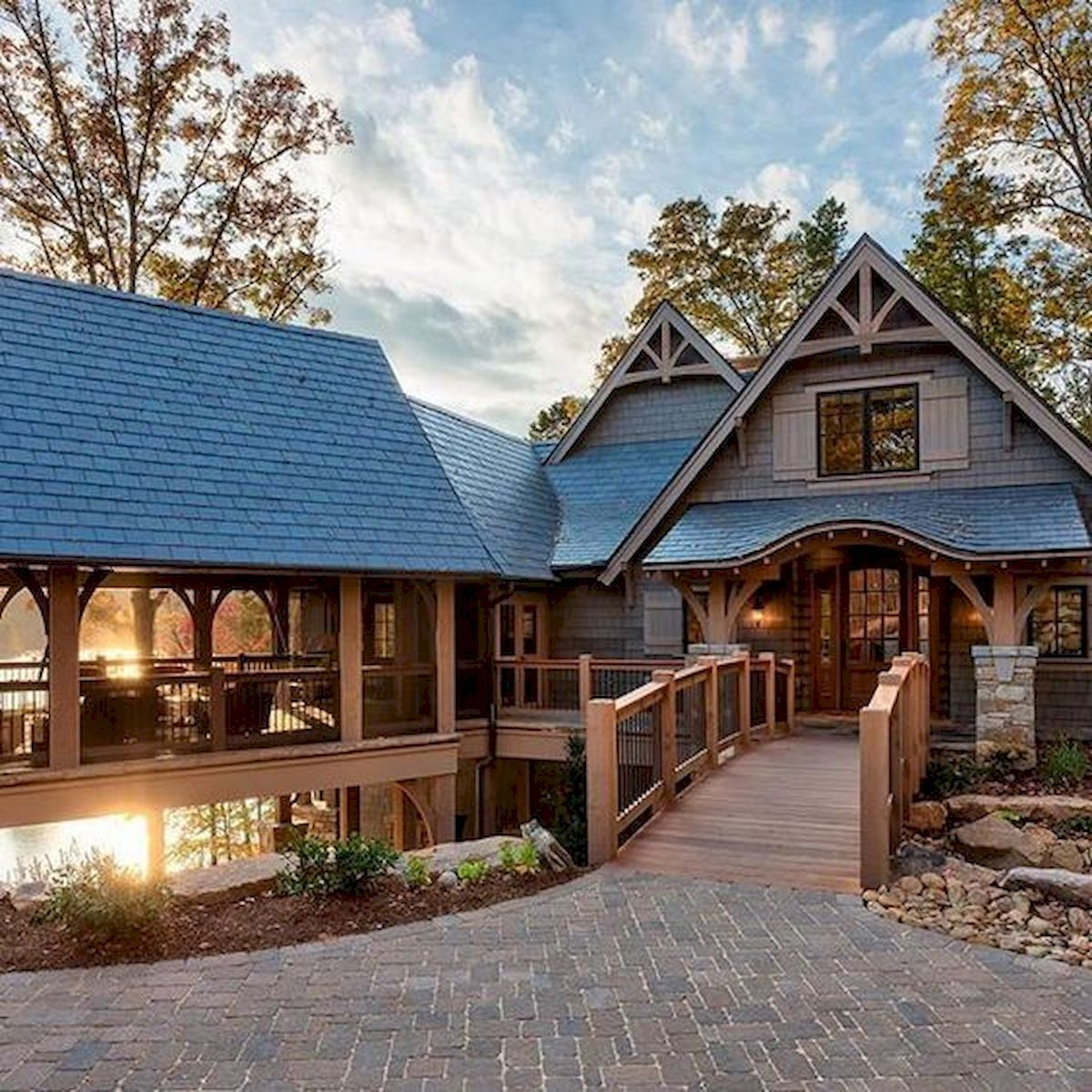 Log Cabin Homes Plans Design Ideas Exterior