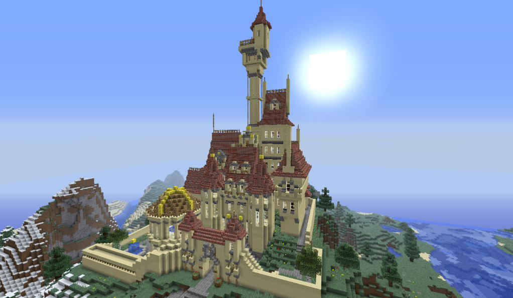 Castle Minecraft Minecraft Castle Statue Of Liberty