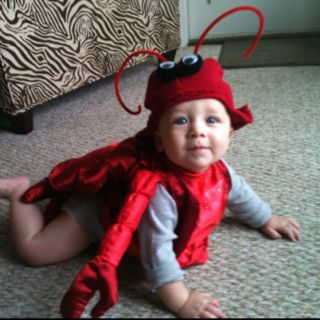 Harpers first Halloween:) handmade by momma!