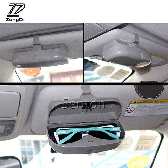 47edeb690a1d ZD Car Styling Glasses Sunglasses Case Phone Holder For VW Passat B5 B6  Polo Golf 4 5 Chevrolet Cruze Lada Granta RAM Opel Jeep Review