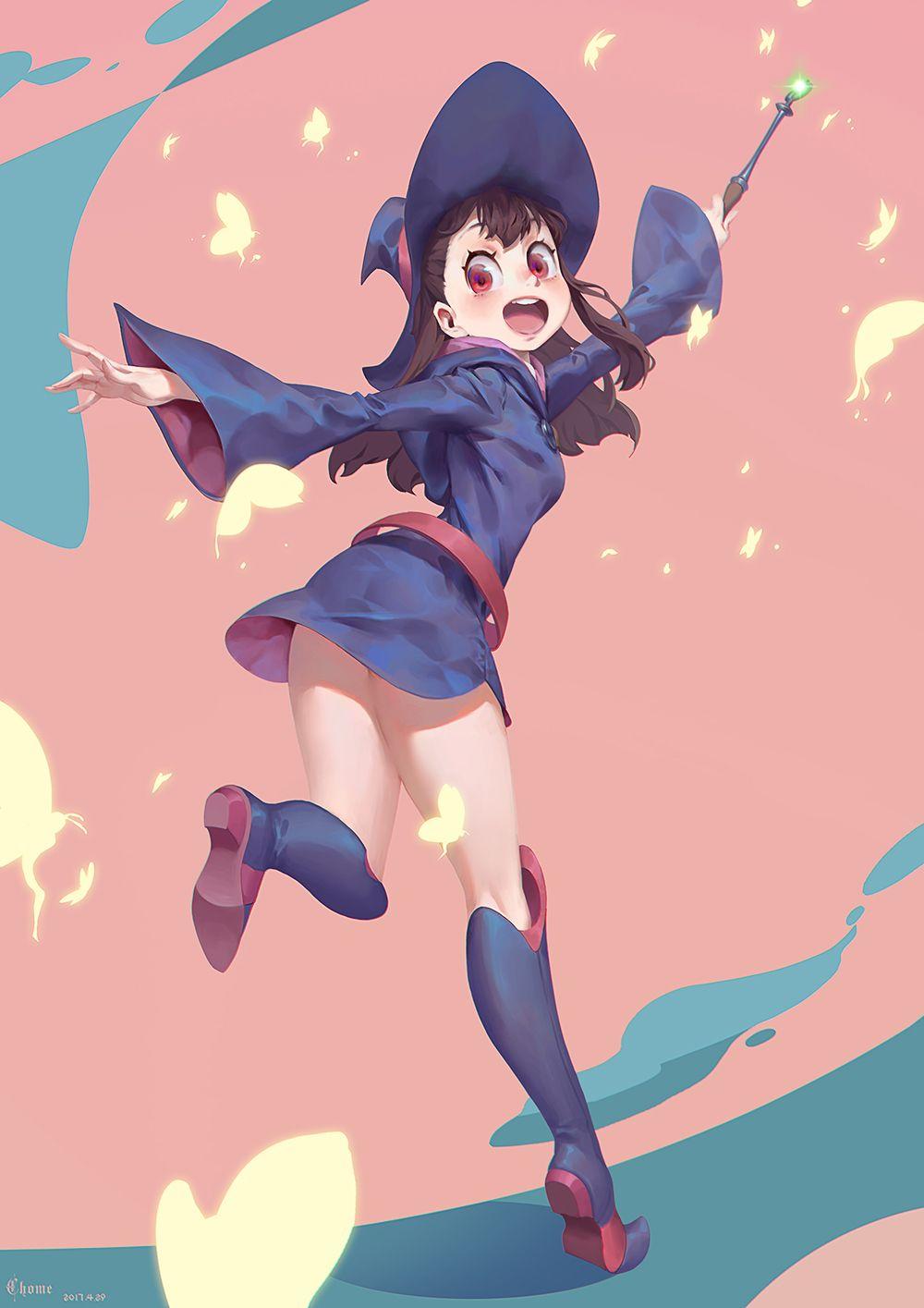 Hottest ebony girl witches cartoon-35834