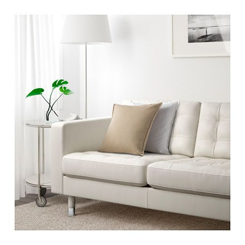ikea landskrona three seat sofa removable armrests make it easy to