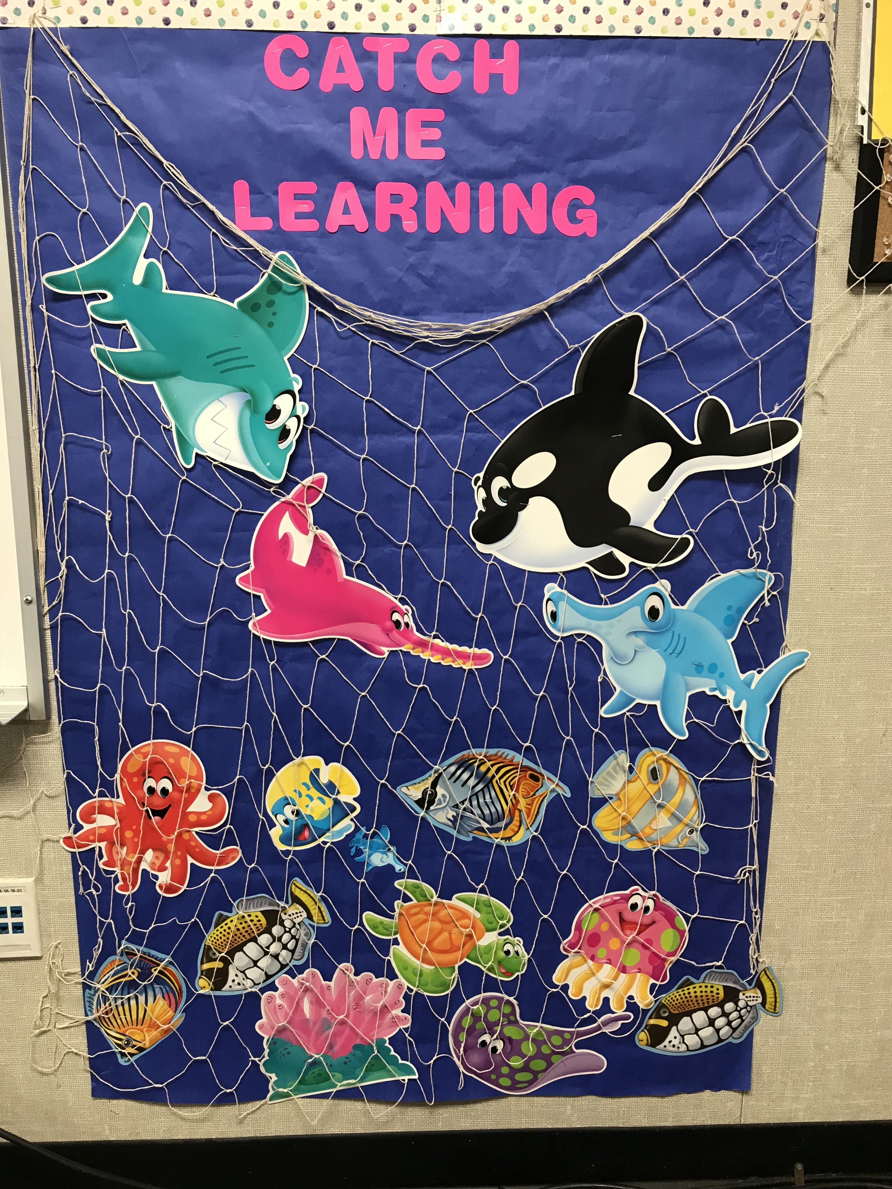 Under The Sea Theme Catch Me Learning Preschool Board