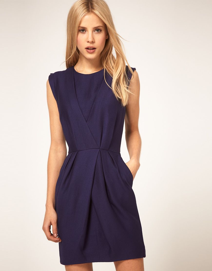 5764b0c76 great structured dress...with pockets! | dress up | Tulip dress ...
