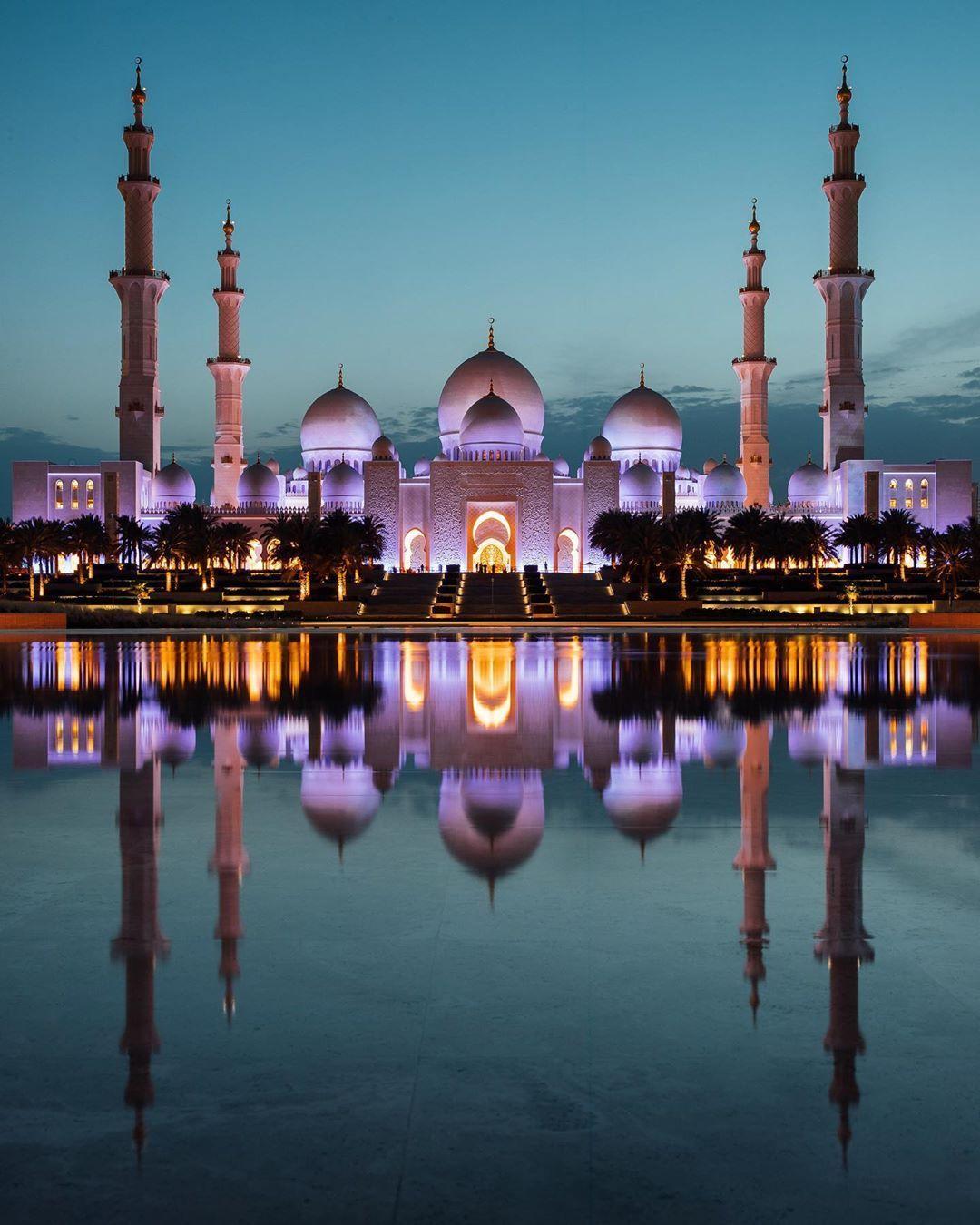 Abu Dhabi, United Arab Emirates Grand mosque, Sheikh