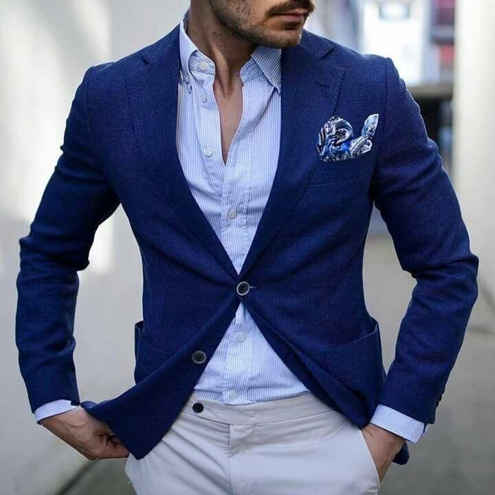 Pin By Krystian Koniuszy On Piets Blue Blazer Men Mens Fashion Casual Mens Fashion Smart
