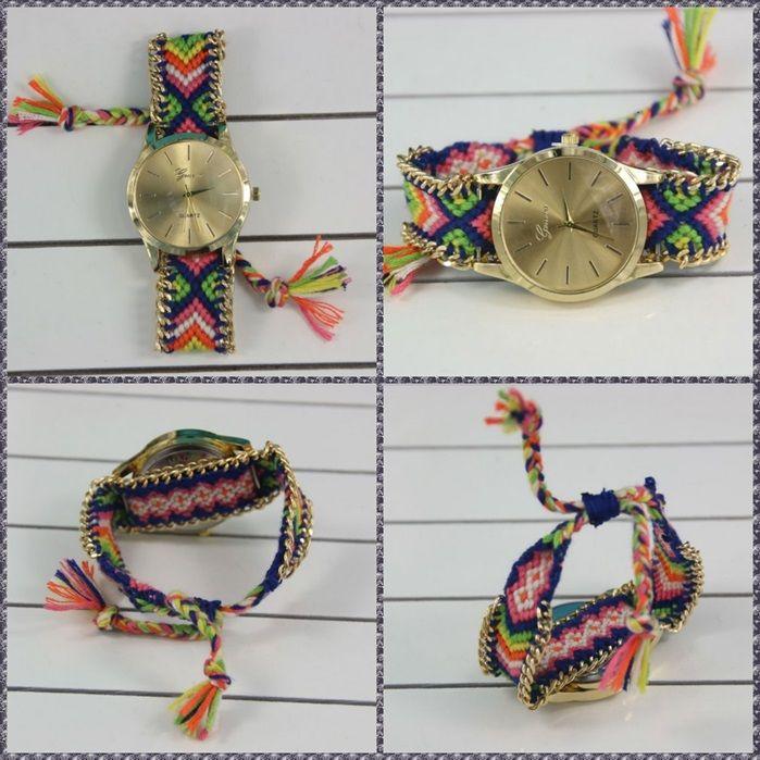 Reloj Geneva Pulsera Tejida Dama - Envio Gratis - Moda 2015 -   50.000 en  MercadoLibre 1cb49ecf7d3e