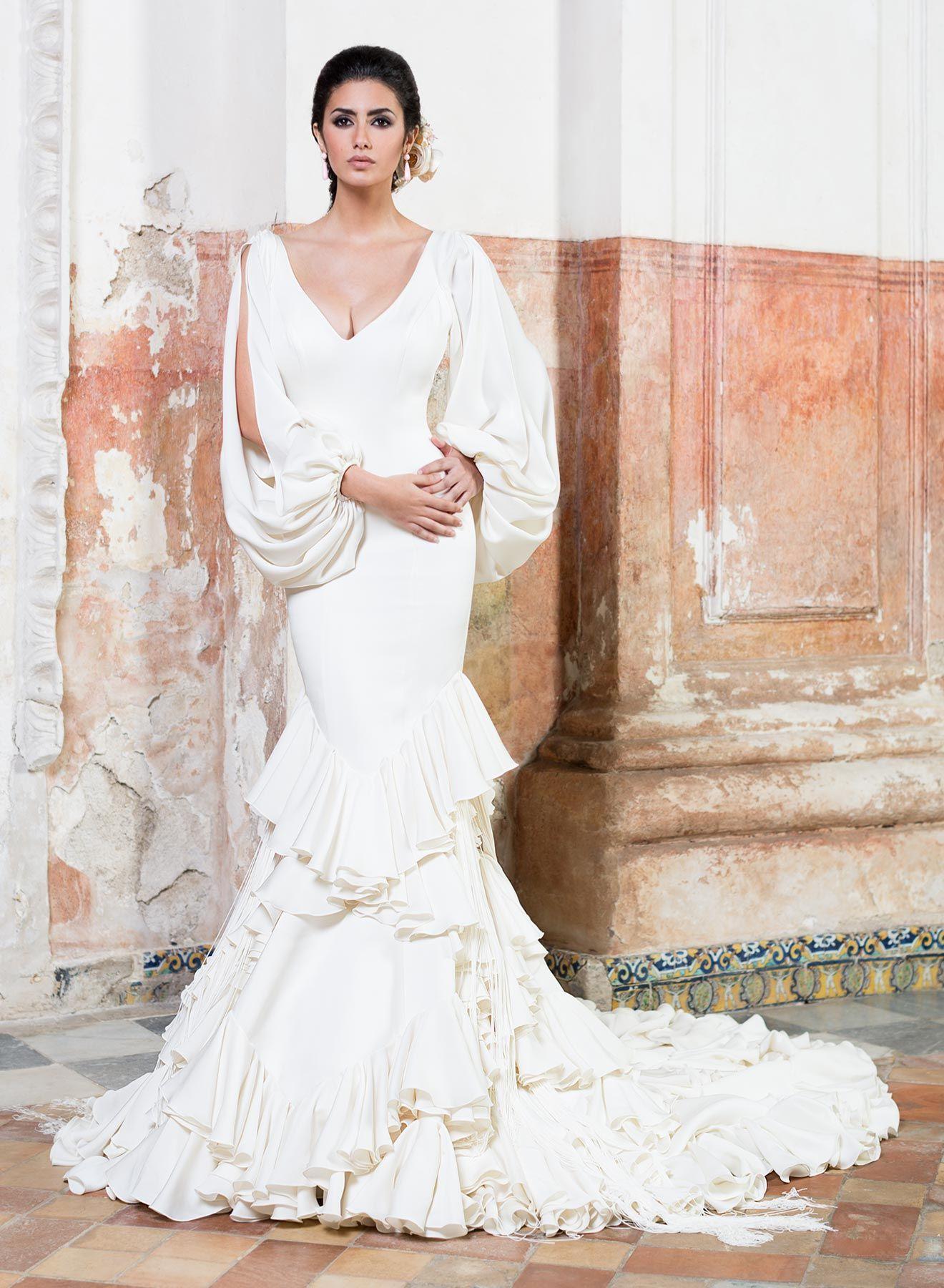 Vestido de novia de Vicky Martín Berrocal #novia #vestido ...
