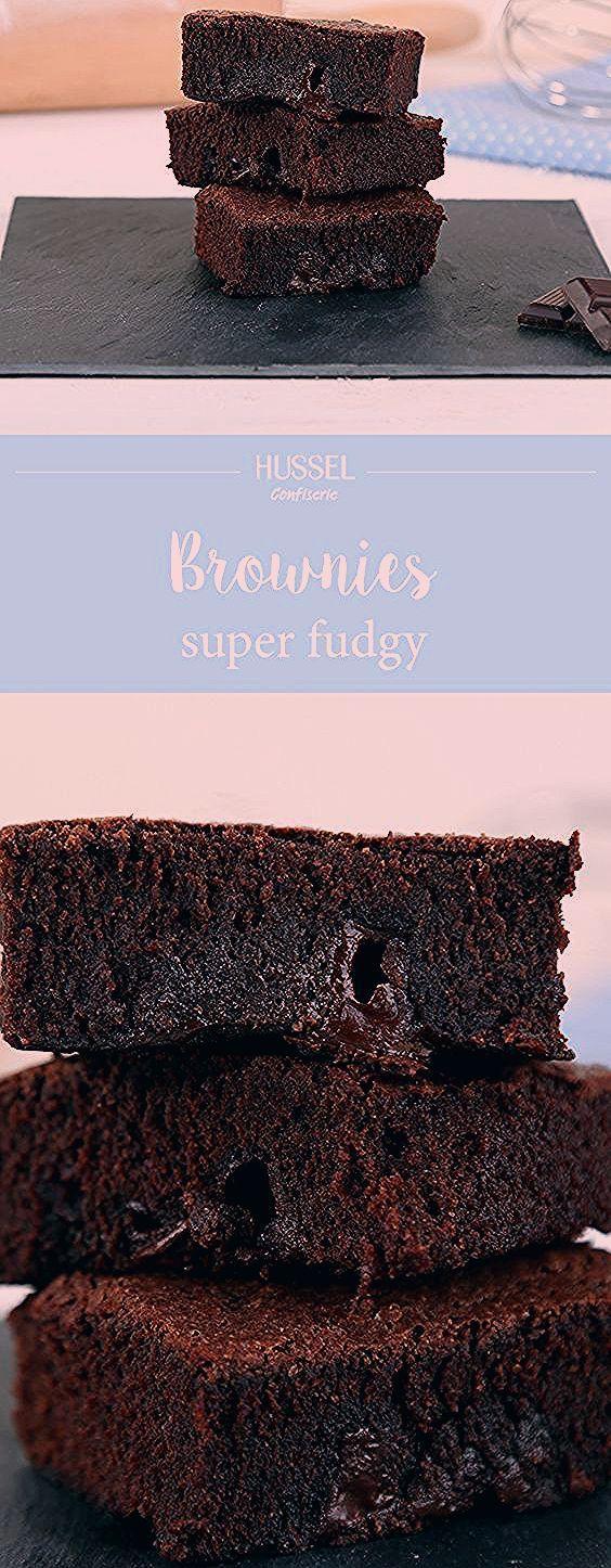 Amerikanische Super Fudgy Brownies - Hussel Confiserie Amerikanische Super Fudgy Brownies - Hussel