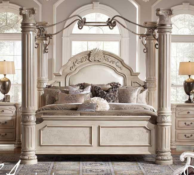 Monte Carlo II Canopy Bed   Michael Amini   Architecture and Design ...
