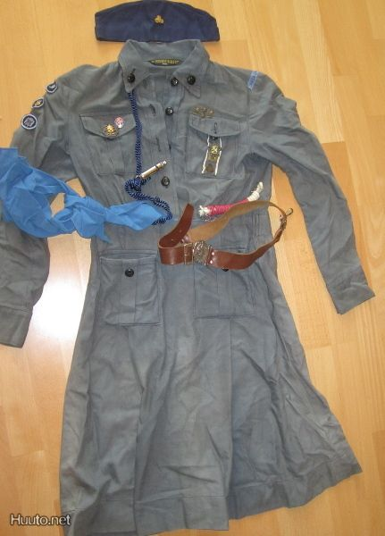 Old Girl Guide uniform from Finland pre-1972