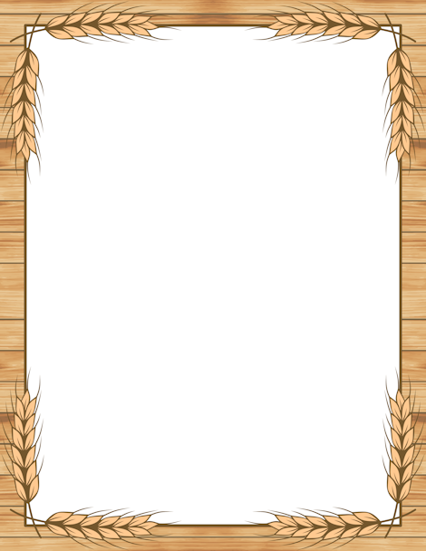 Printable wheat border. Free GIF, JPG, PDF, and PNG downloads at ...