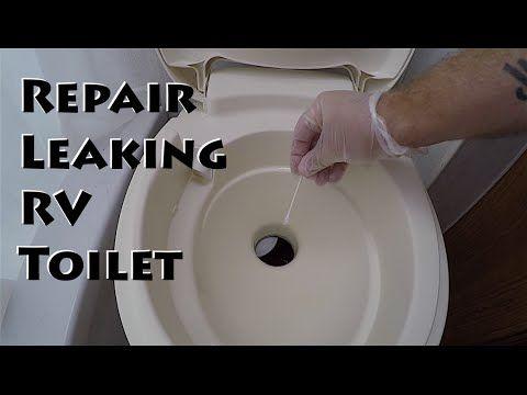 Thetford Rv Toilet How To Fix Leaking Rv Toilet Gasket Seal Flush