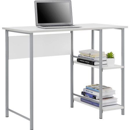 Mainstays Basic Student Desk Multiple Colors Walmart Com Cheap Office Furniture Small Computer Desk Desk