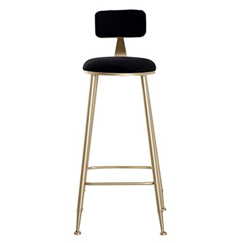 Seat Height 29 5in Bar Stools Contemporary Barstool Chairs With Back Modern Pub Kitchen Counter Height Velvet Bar Stools Kitchen Bar Stools Breakfast Chairs