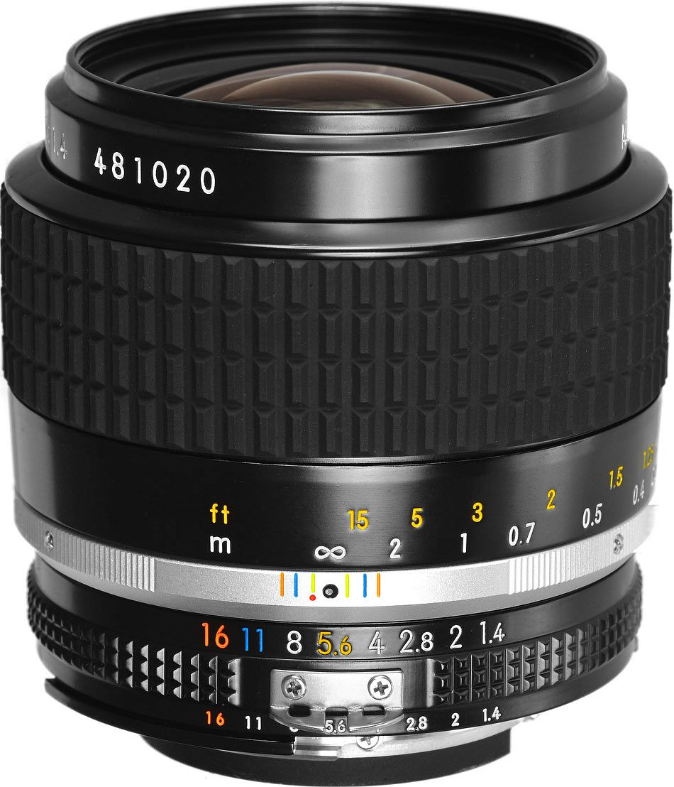 Iva Esclusa Nikon Nikkor Ais 35mm F 1 4 Manual Focus A 505 Cliccate Qui Http Sanmarinophoto Com Page View Nikon Nikon 35mm Photography Camera