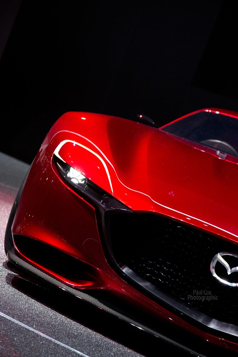 Mazda RX Vision at The Geneva Motor Show 2016 車の壁紙