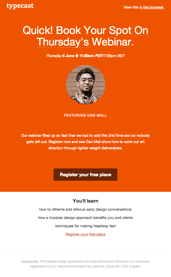 Really Good Emails Webinar Invitation Event Invitation Design Invitation Design Inspiration