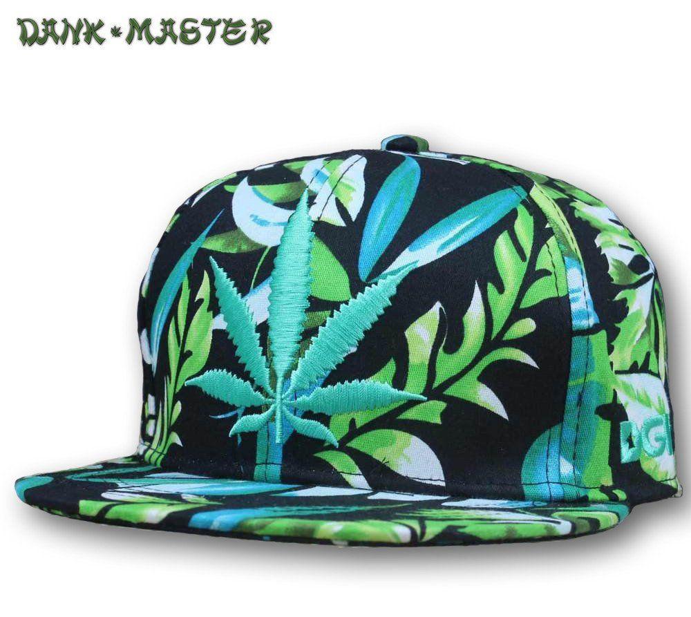 Weed Baseball Cap Marijuana Cannabis Leaf Pot Kush Hip Hop Hiking Snapback Hat