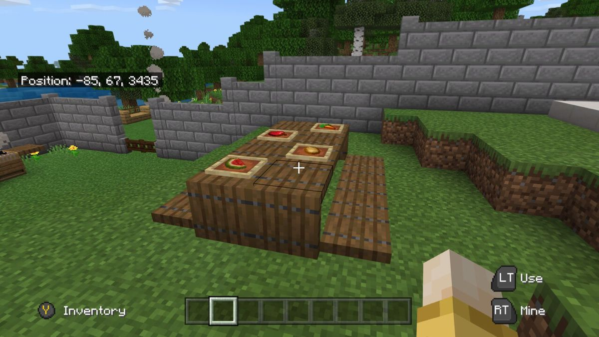 Minecraft Picnic Table  Outdoor decor, Picnic table, Outdoor