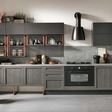 cucine Talea Grigio scuro Isola | casa | Pinterest | Italy and Kitchens