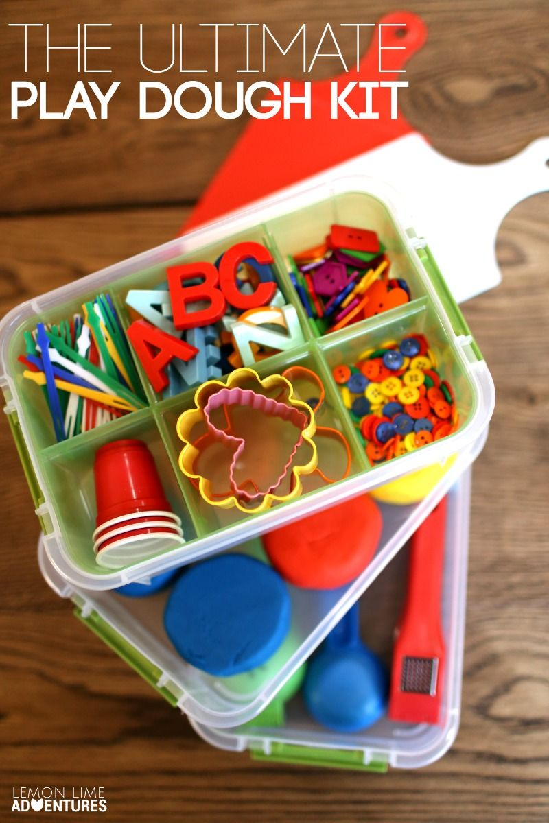 The Ultimate DIY Play Dough Kit for Toddlers and Beyond