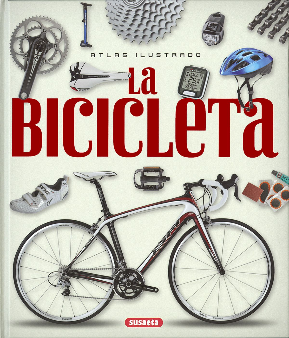 La bicicleta: atlas ilustrado