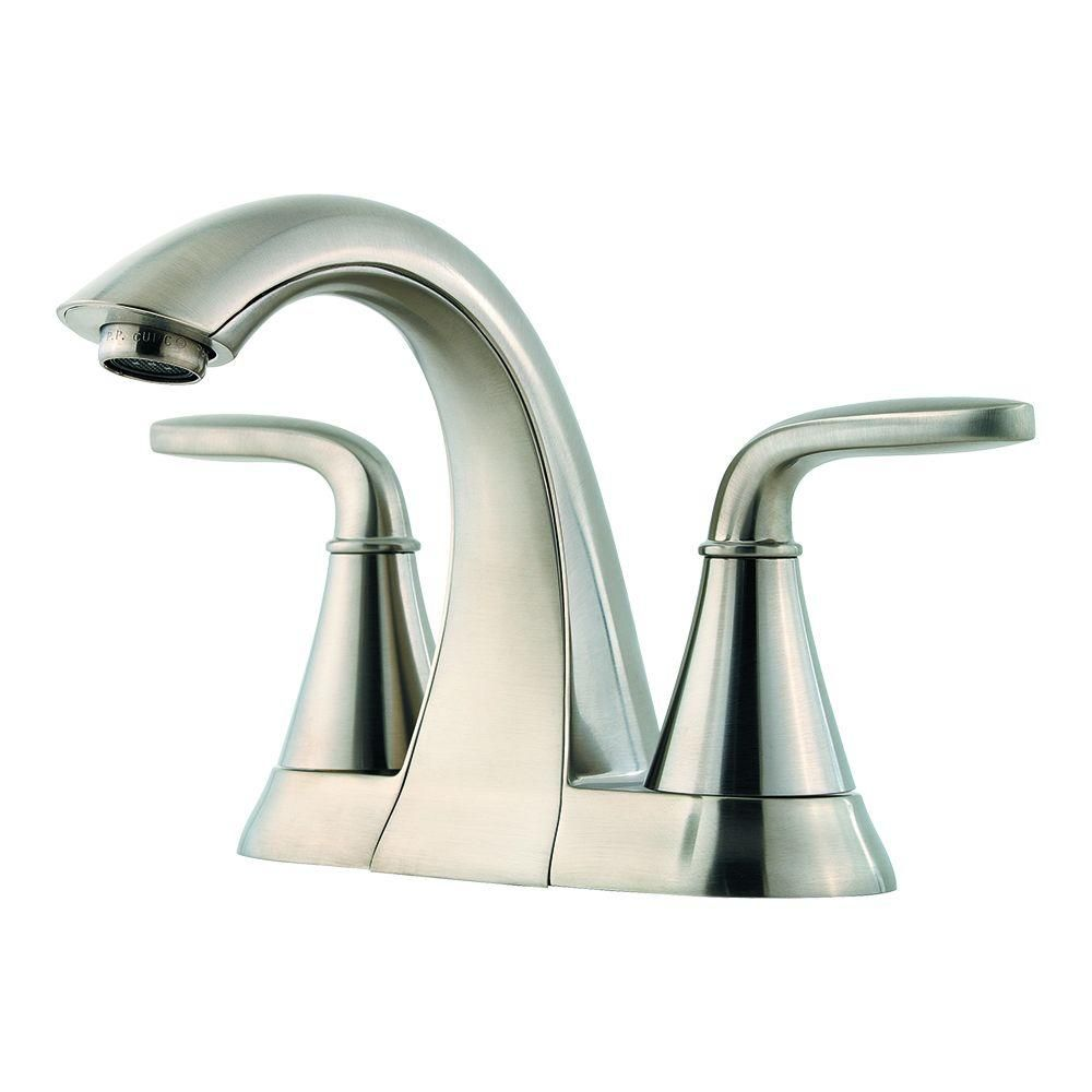 Pfister Pasadena 4 In Centerset 2 Handle Bathroom Faucet In