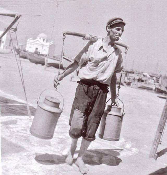 Νερουλάς. Μύκονος , 1950-1960