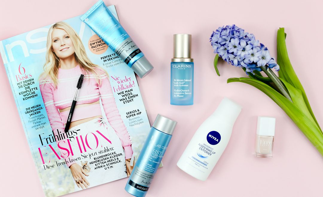 Beauty Favoriten im April Paula's Choice Clarins Kure Bazaar Nivea Ebelin