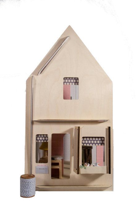 lille huset diy doll houses things to make diy. Black Bedroom Furniture Sets. Home Design Ideas