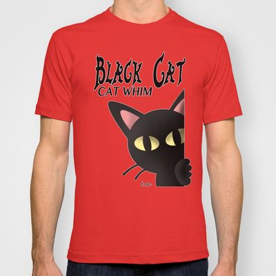 BLACK CAT 3 T-shirt by BATKEI