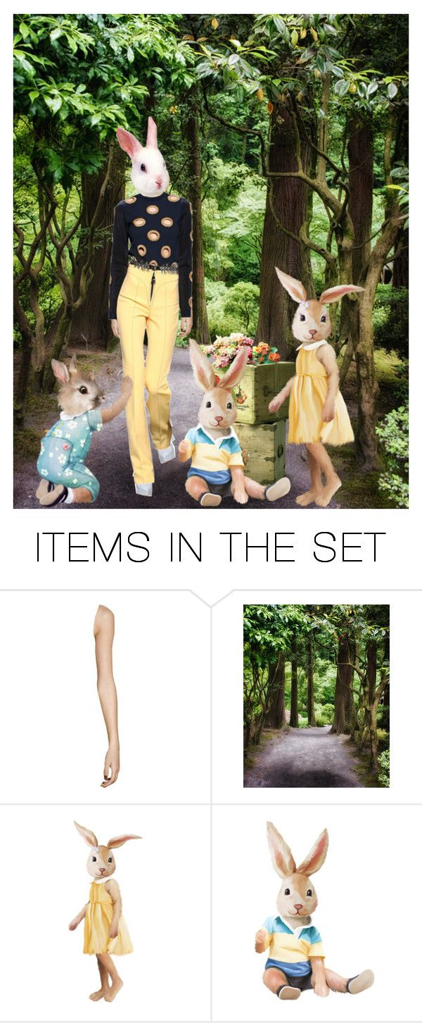"""""""Some Bunny Loves You ♥"""" by joyce-williams ❤ liked on Polyvore featuring art"""