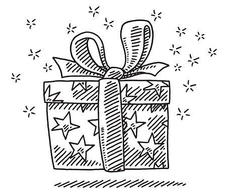 Caja de regalo sorpresa dibujo | Visual Thinking #FdV | Pinterest ...