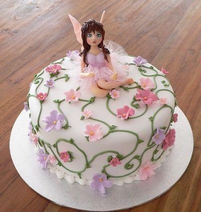 Fairy Birthday Cake By Faerybeary On Cakecentral Com
