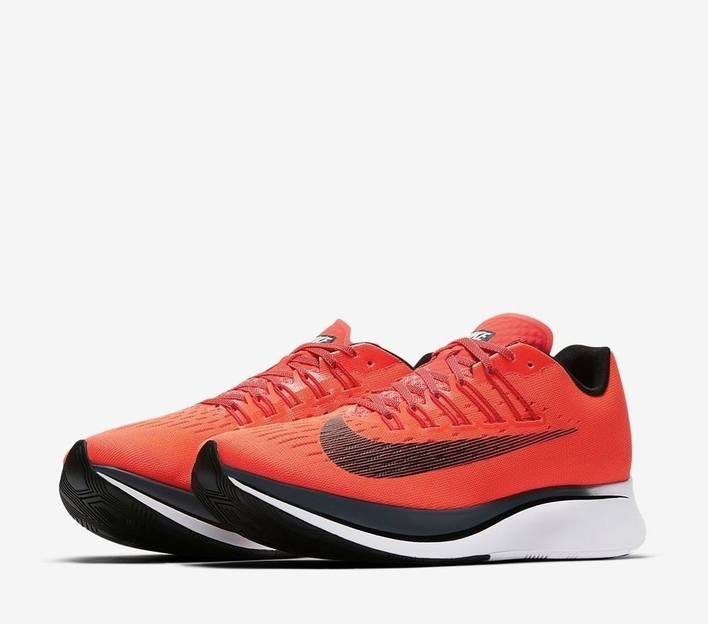 a76899815693b Nike Zoom Fly Mens Running Shoes 15 Bright Crimson Blue Fox 880848 614  Nike   RunningShoes