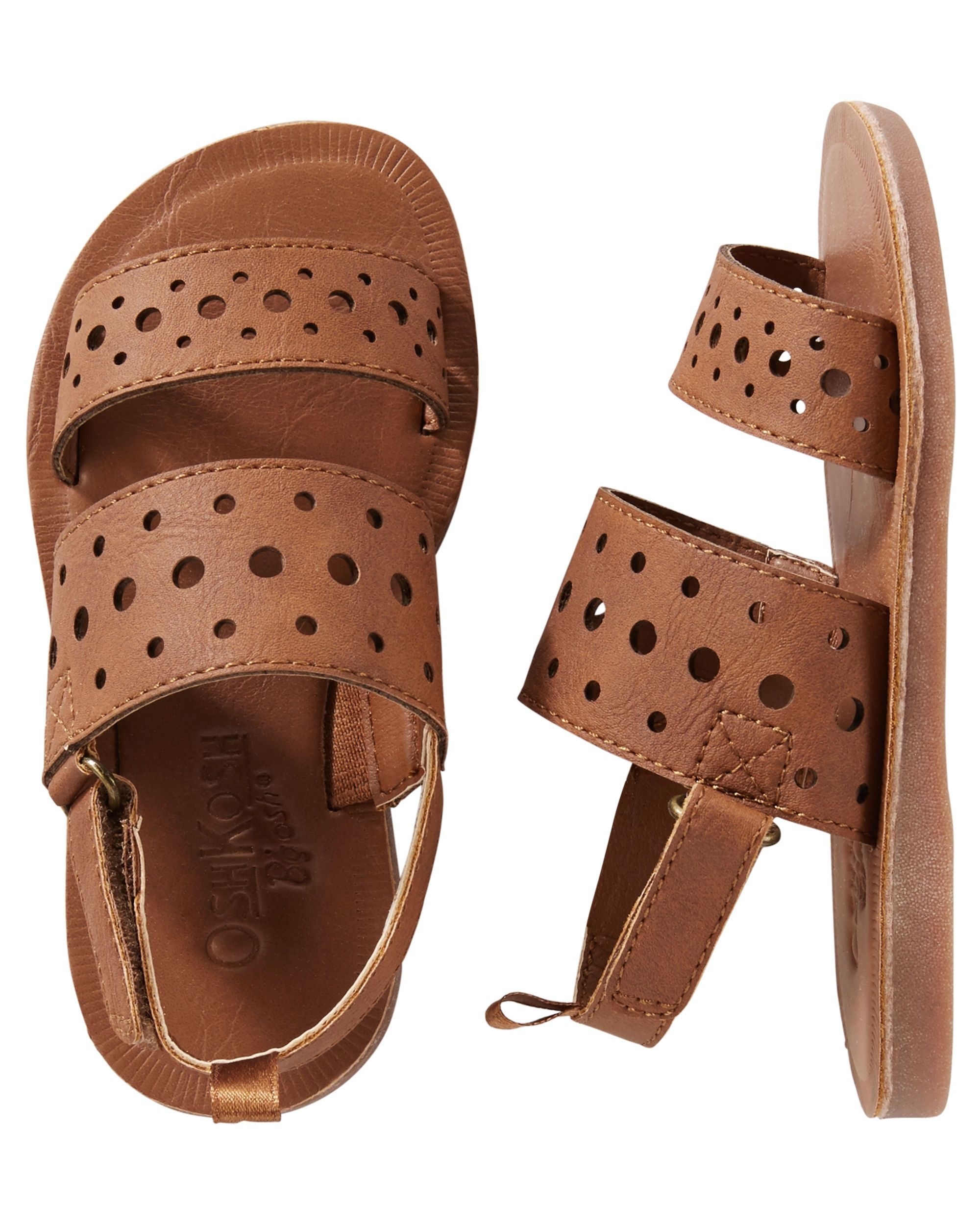 ee72d65c116f Baby Girl OshKosh Cutout Strappy Sandals