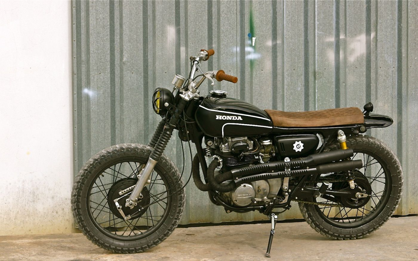 Cl360 Lab 13 Inazuma Cafe Racer Scrambler Enduro Motorcycle Honda Scrambler [ 875 x 1400 Pixel ]