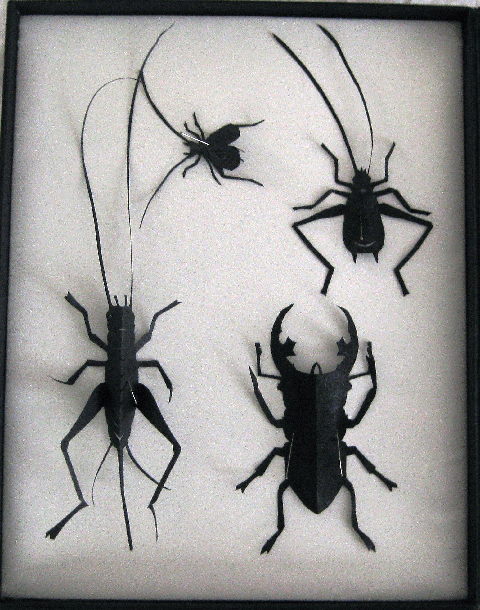 Resultado de imagen para insect kirigami