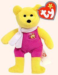 Birdie the Bear - Ty Teenie Beanie Babies - McDonalds promotion USA 2004 f37c9816f906